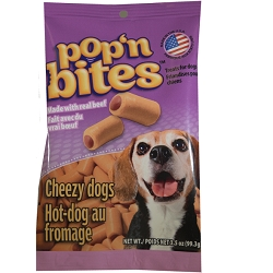 Pop'n Bites Cheezy Dogs - 2 bags
