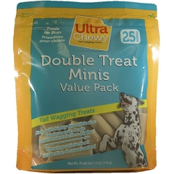 Ultra Chewy Double Treat Bone Minis Value Pack