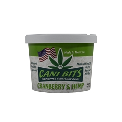 Cani Bits - Cranberry & Hemp - 4 Oz