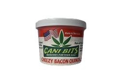 Cani Bits - Cheezy Bacon & Quinoa - 4 Oz