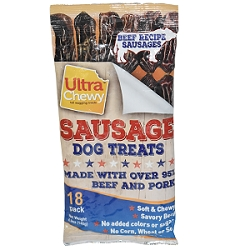 Ultra Chewy Sausages - 2 Bags